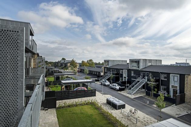 SUNDPARKEN, HIMMERLAND HOUSING ASSOCIATION, C.F. MØLLER ARCHITECTS, Aalborg, Denmark