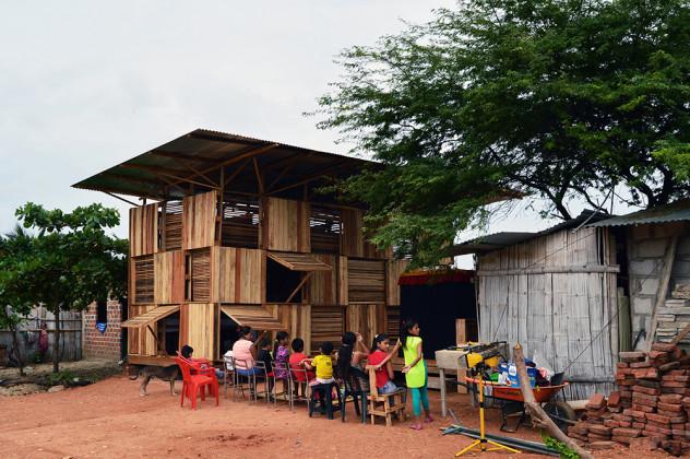 PROJECT CHACRAS; POP UP PRODUCTIVE HOUSING, NATURA FUTURA ARQUITECTURA + COLECTIVO CRONOPIOS, Chacras, Arenillas, Ekvador, Eduardo Cruz, Natura Futura
