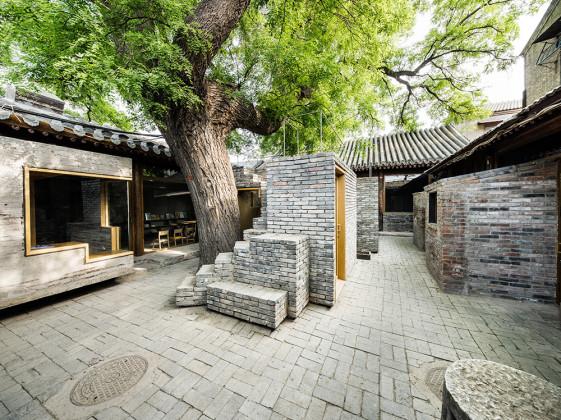 HUTONG CHILDREN'S LIBRARY & ART CENTRE, ZAO/STANDARDARCHITECTURE, Dashilar, Bejing, China