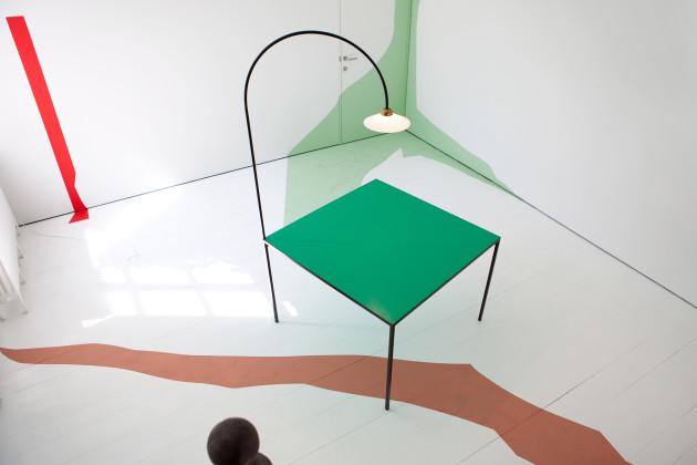 table + lamp, aslı çiçek, product design, ürün tasarımı, muller van severen,