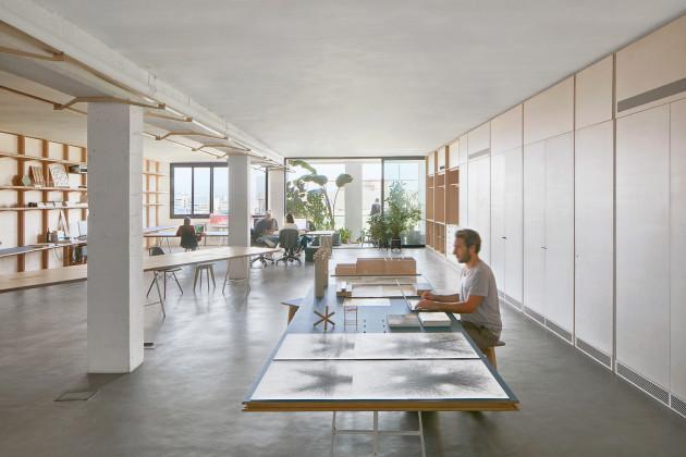 CO-WORKING OFFICE, APPAREIL, Barselona, İspanya,