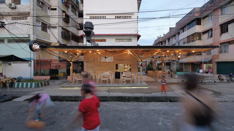 la pesca urban restaurant, Natura Futura Arquitectura, XXI architecture and design magazine