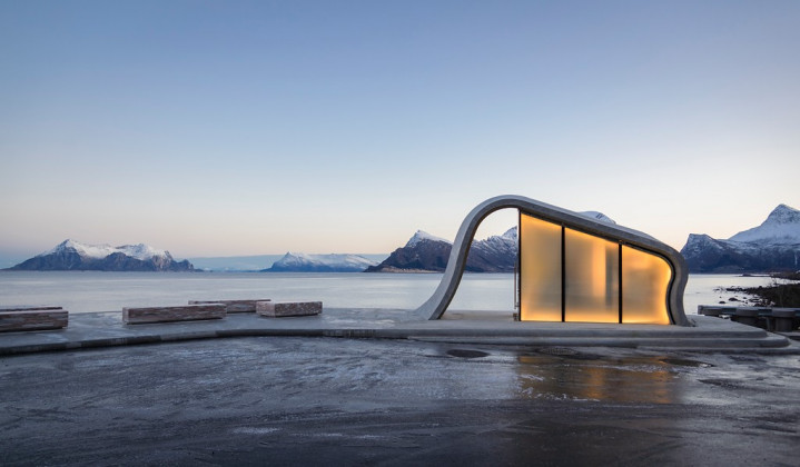 Uredd Rest Area along Norwegian Scenic Route, Haugen/Zohar Architects