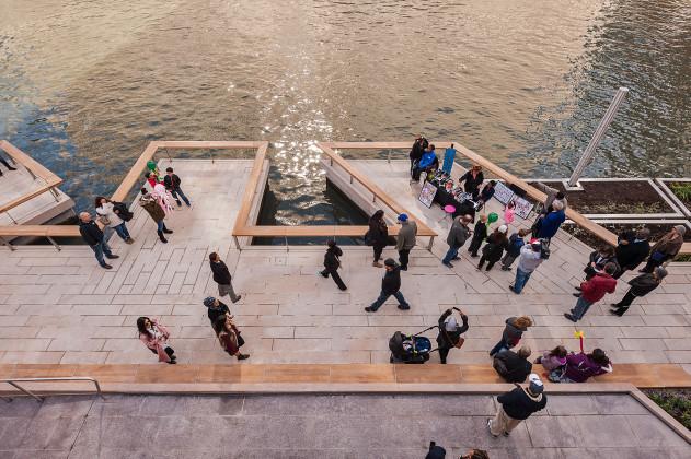 Chicago Riverwalk Expansion, Sasaki, Ross Barney Architects