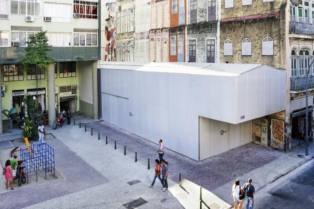 metro architects, Refettorio Gastromotiva, rio de janerio