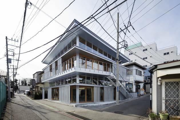 Substrate Factory Ayase, Aki Hamada Architects