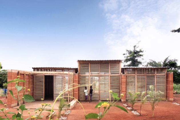 insideout school, ghana, Andrea Tabocchini, Francesca Vittorini, xxi architecture magazine