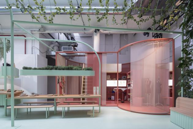 MINI living, Built by All, Studiomama, Milan Design Week