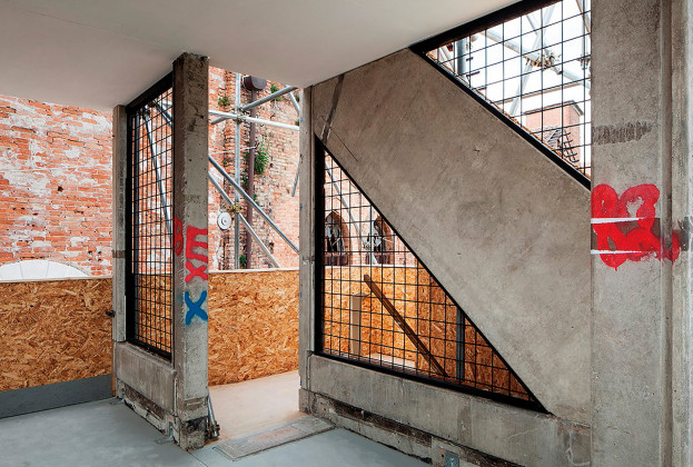 Robin Hood Gardens: A Ruin in Reverse exhibition, 16th Venice Architecture Biennale